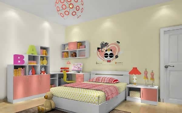 طراحی شیک و کاربردی اتاق خواب دخترانه کودک و نوجوان