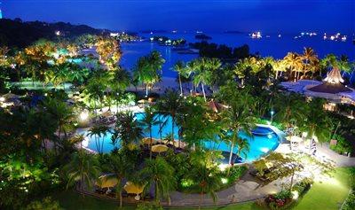 جزیرهزیبا و دیدنی سنتوزای سنگاپور