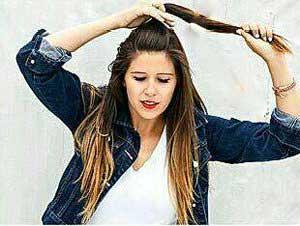 مدل موی جمع زیبا در کمتر از 5 دقیقه درست کنید