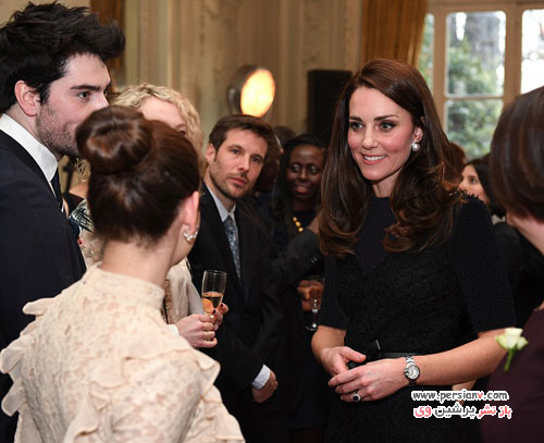 کیت میدلتون با تیپ های مختلف در کاخ الیزه و دیدار با رئیس جمهور فرانسه
