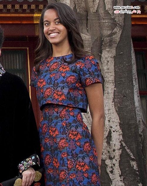 تغییر استایل مالیا دختر بزرگ اوباما در از کودکی تا حال