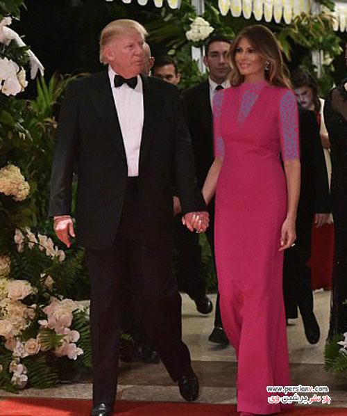ملانیا ترامپ و انتشار اولین عکس رسمی وی در کاخ سفید