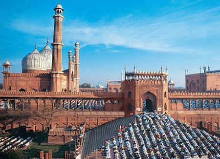 مسجد جامع دهلی جاذبه ای بسیار دیدنی در هند
