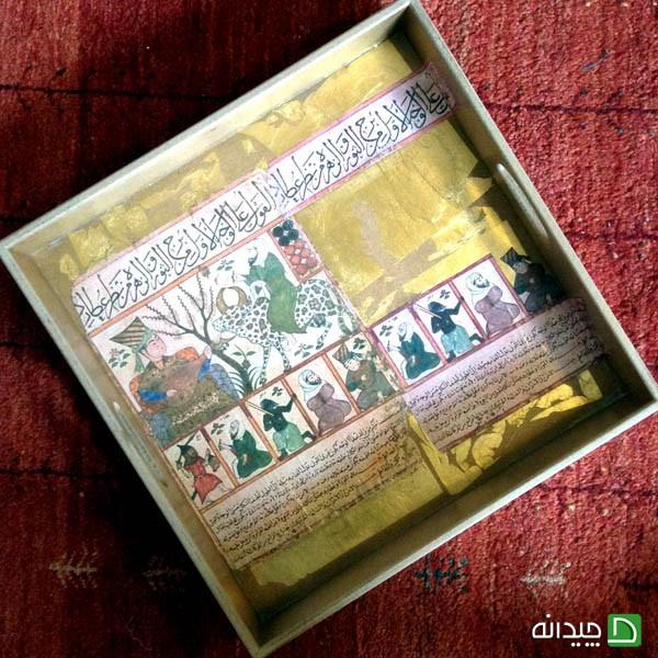 از دوشنبه بعداز ظهر انیس الدوله تا مجموعه هفت رنگ:خلاقیت یک بانوی ایرانی در طراحی وسایل چیدمان خانه به سبک سنتی و اصیل ایرانی