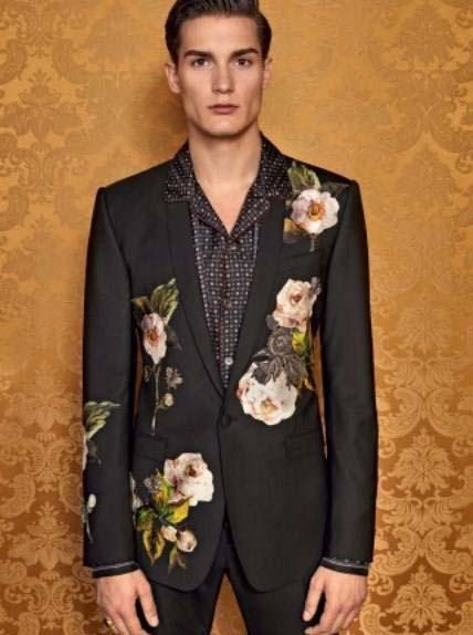 کت و شلوار مردانه 2017 با رنگ و مدل دولچه گابانا