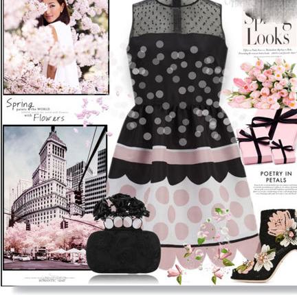 ست لباس زنانه برای مهمانی های بهار2017