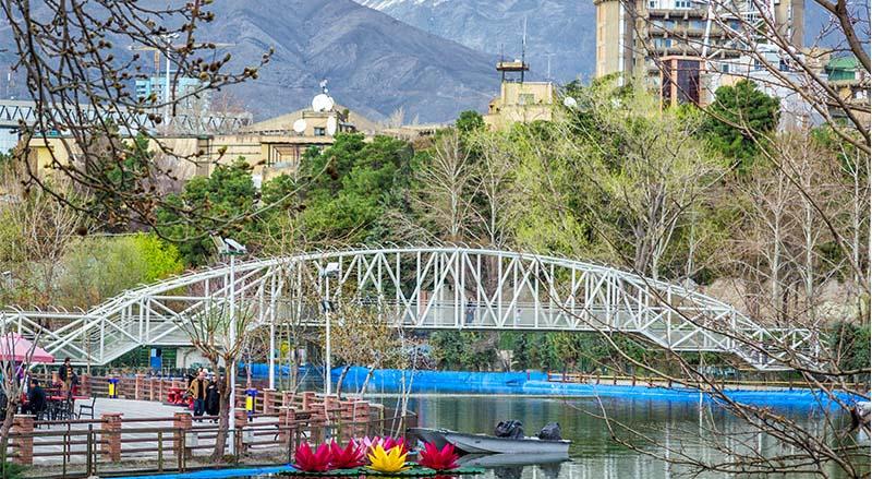 دریاچه پارک ملت جاذبه ای دیدینی در پایتخت