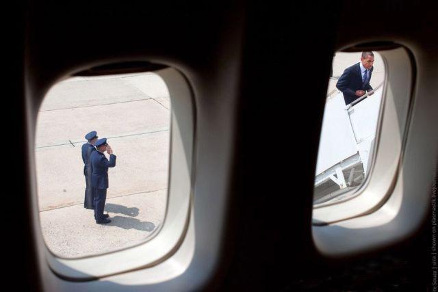 هواپیمای رئیس جمهور آمریکا (عکس)