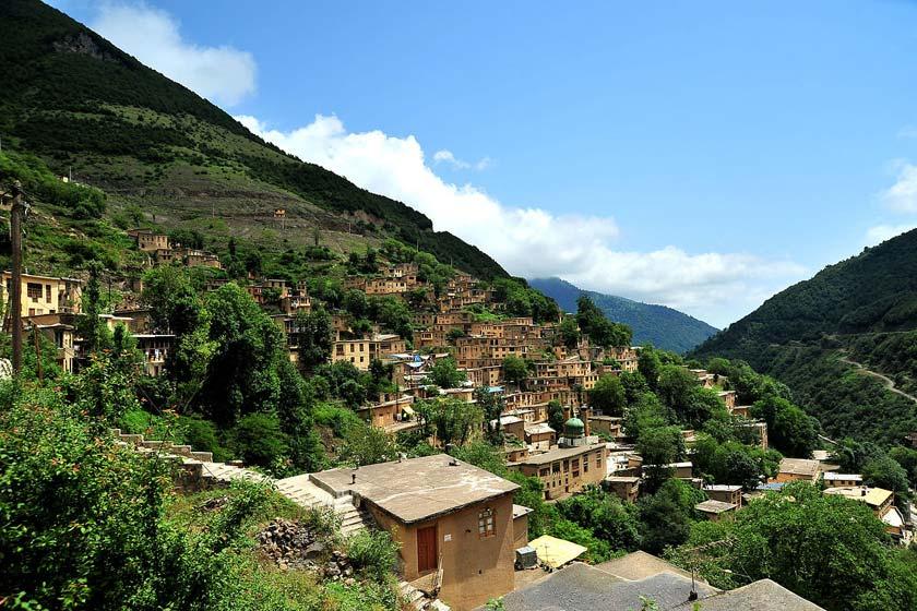 مکانهای دیدنی روستای زیبا و تاریخی ماسوله