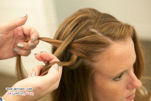 آموزش بافت مو آبشاری