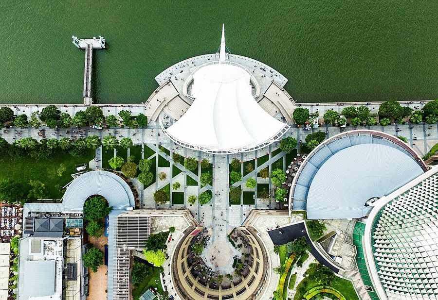 جاذبه های دیده نشده در سنگاپوررا از آسمان ببینید