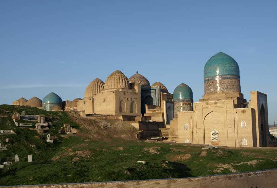 آرامگاه شاه زنده | قبرستان باستانی در ازبکستان