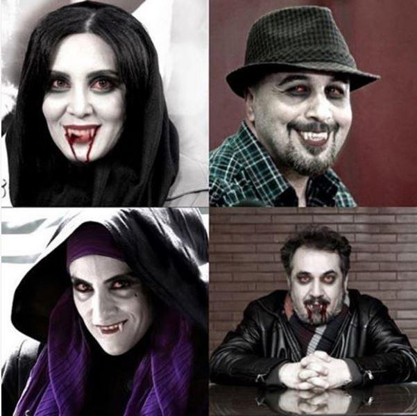 عکس ترسناک 4 بازیگر ایرانی