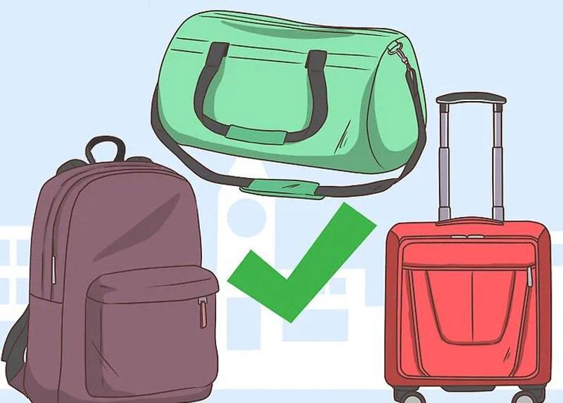 بستن چمدان برای سفردو روزه