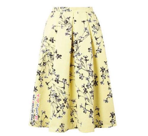 رنگ زرد در استایل لباس های بهار