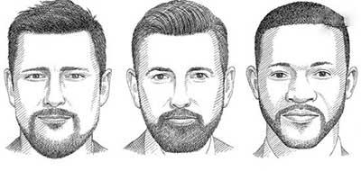 مدل ریش مناسب فرم صورت خود را انتخاب کنید