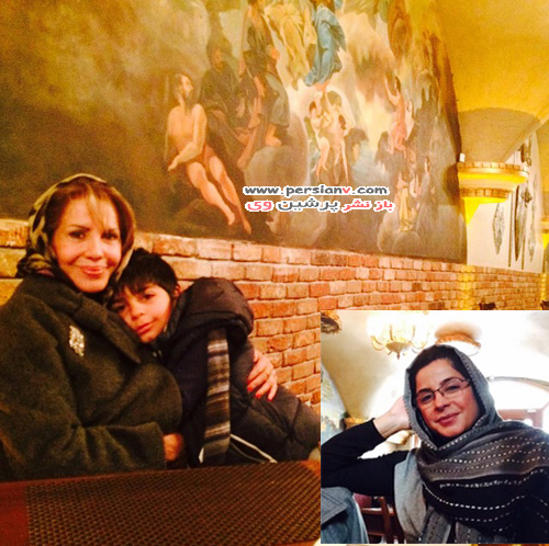 عکس های خانوادگی هنرمندان و چهره های مشهور