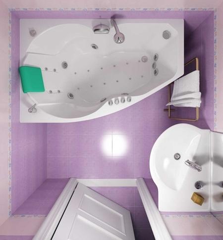 دکوراسیون این سرویس بهداشتی های مدرن و کوچک شما را شگفت زده خواهد کرد