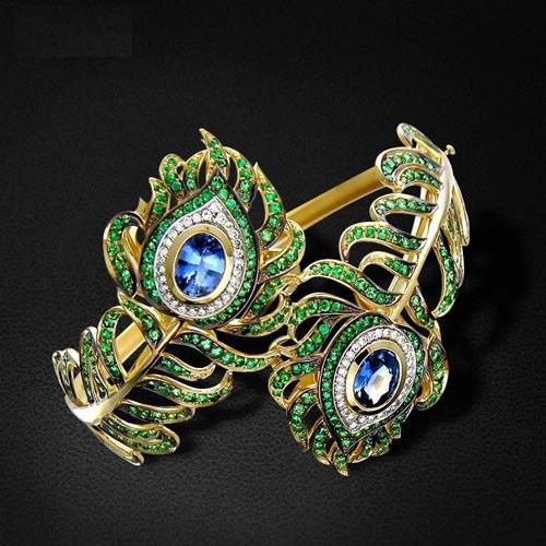مدلهای زیبای دستبند طلا مخصوص خانمهای مشکل پسند