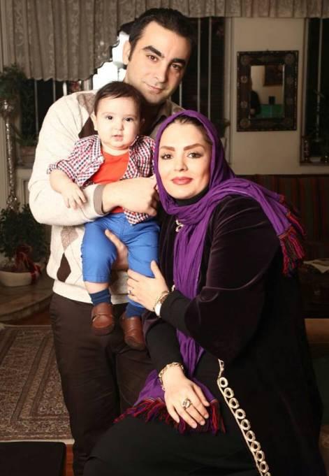 عکس جدید سپیده خداوردی در کنار همسر و پسر بامزه اش