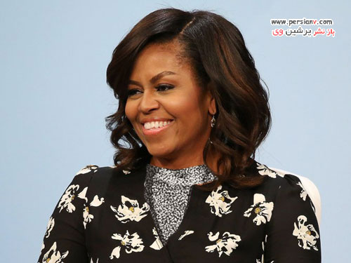 میشل اوباما و موهای طبیعی اش که از دیدنش تعجب خواهید کرد