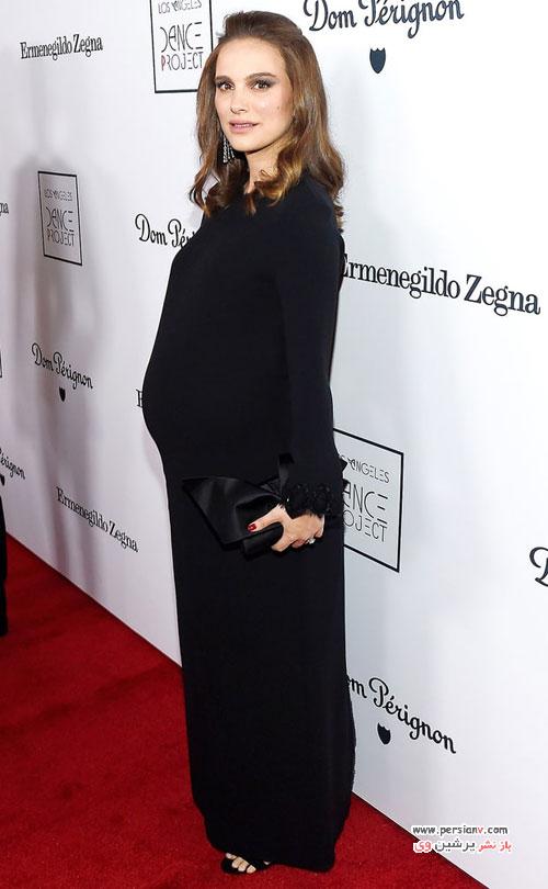 تیپ های بارداری ناتالی پورتمن در بارداری دومش