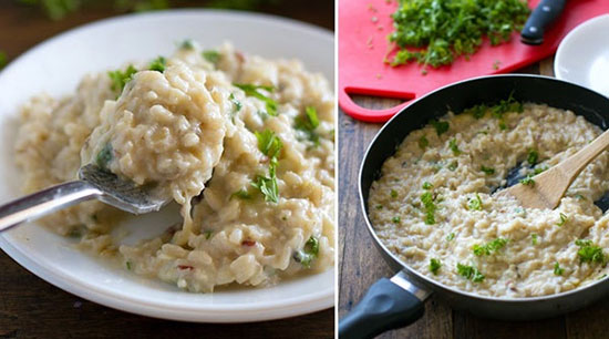کلم پلو آسیایی با برنج قهوه ای ، این بار کلم پلو را به روش دیگری طبخ کنید