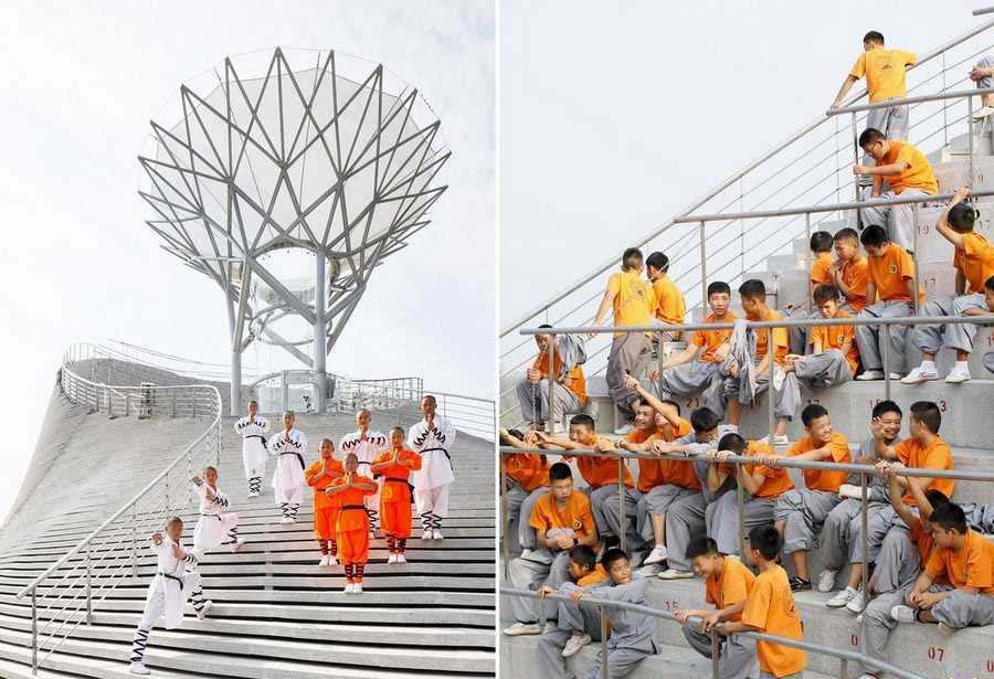 معبد راهبان پرنده ی شائولین