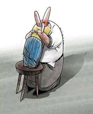 کاریکاتور روز مرد و پدر