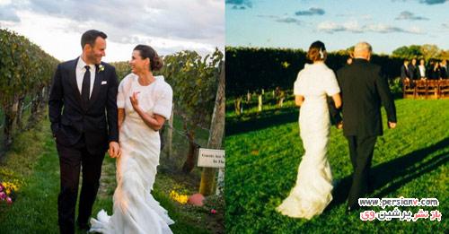 مدل لباس عروس زهیر مراد لباس عروس ستاره هایی که در سال 2015 عروس شدند +عکس