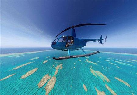جزایر مرجانی استرالیا بزرگترین مجموعه صخرههای مرجانی در دنیا