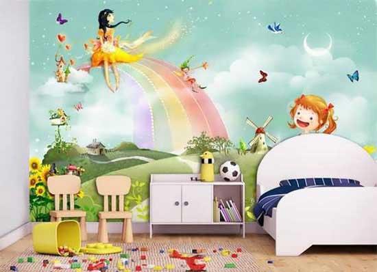 دکوراسیون اتاق کودکان با طراحی دخترانه و پسرانه