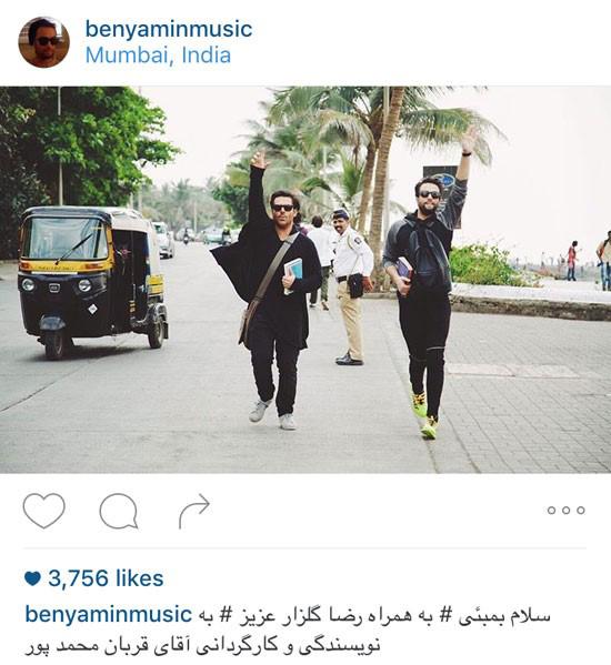عکسهای بنیامین بهادری در هندوستان در پروژه سلام بمبئی