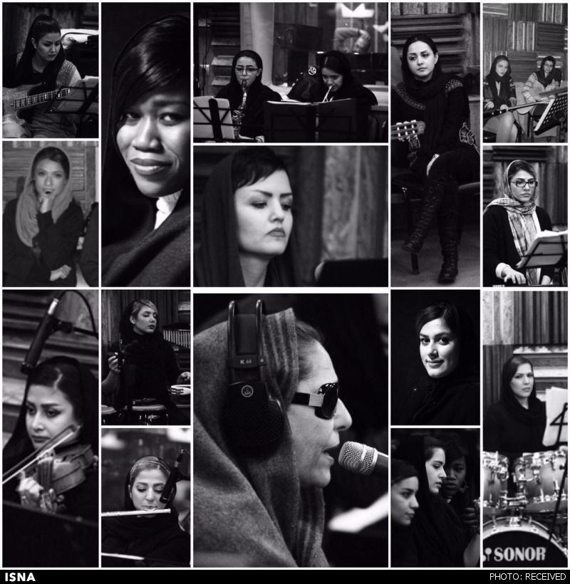 بالاخره عکس های کنسرت بانوان هم منتشر شد / دورهمی بازیگران زن مشهور در کنسرت بانوان ستاره قطبی
