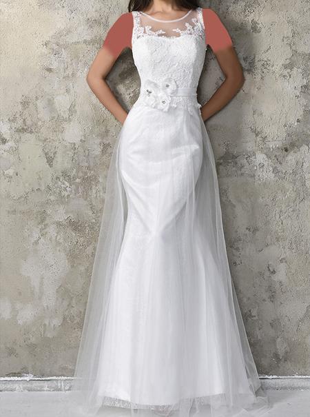 شیکترین لباس مجلسی سفید بلند در طرح های زیبا