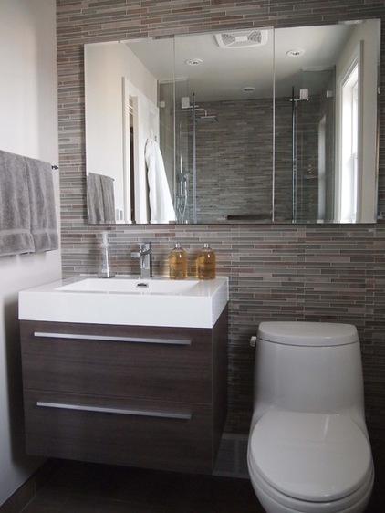 حمام و سرویس های بهداشتی کوچک را اینگونه طراحی کنید