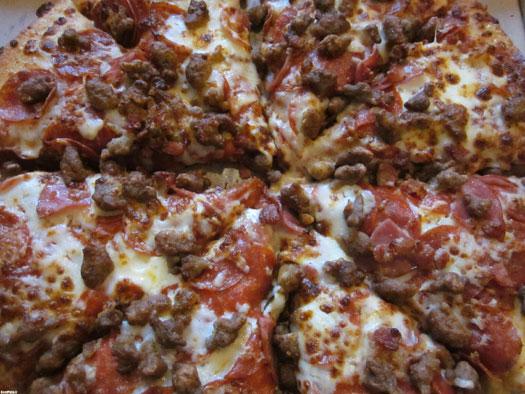 اموزش پیتزا گوشت چرخ کرده