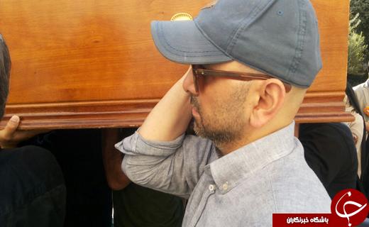 مراسم تشییع پیکر مرحوم داود رشیدی با حضور هنرمندان و بازیگران مشهور