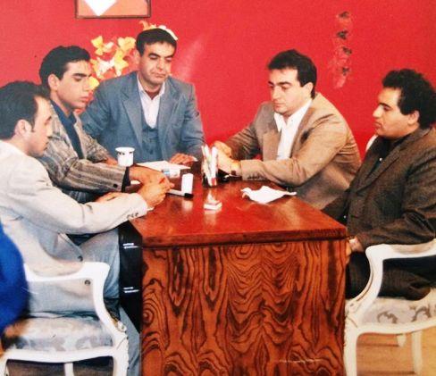 عکس دیده نشده از 20سال پیش رضا عطاران, رادش, لولایی و نادر سلیمانی