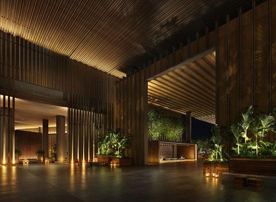 هتل مجلل با اقیانوس خصوصی در چین