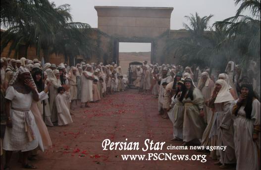 تصاویری دیدنی از صحنه و پشت صحنه سریال یوسف پیامبر