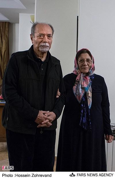 همسر علی نصیریان همسر بازیگران عکس جدید بازیگران بیوگرافی علی نصیریان