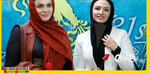 عکس های بازیگران در افتتاحیه سی و یکمین جشنواره فیلم فجر(1)