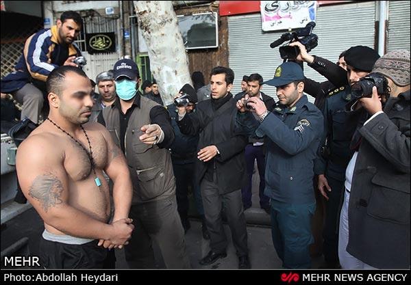 عکس زنان معتاد در تهران
