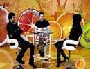 عکس های حسین مهری و پریناز ایزدیار در برنامه ویتامین 3