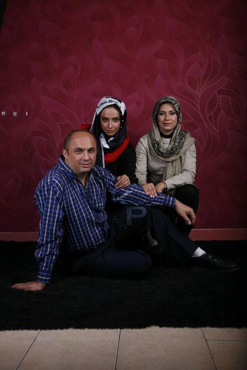 عکسهای جدید شبنم قلی خانی به اتفاق خواهر و برادرش