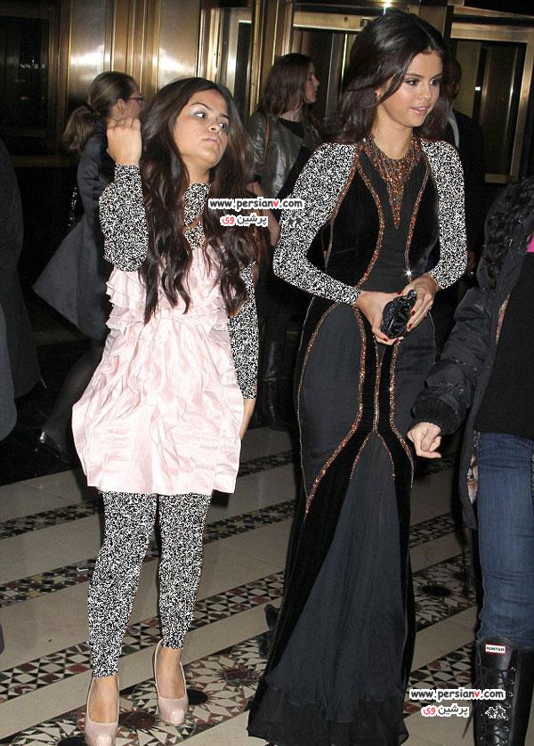 سلنا گومز و خواهرش به همراه کتی پری در مراسم یونیسف