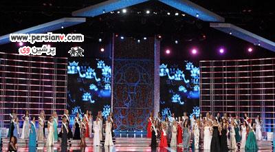 واکنش جالب دختر شایسته 2013 هنگام برنده شدن