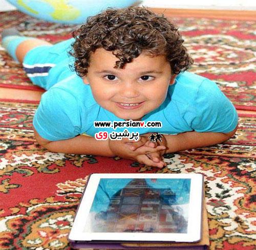 کودک 3 ساله ایرانی، خردسالترین نابغه جهان شد /عکس