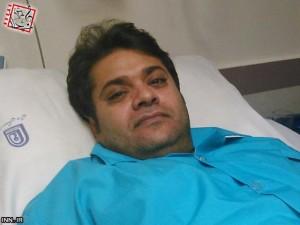 غلامرضا صنعتگر ، خواننده پاپ در بیمارستان بستری شد